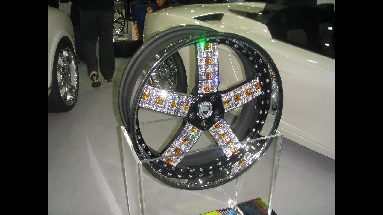 Most Expensive Car Rims 1 Million Asanti