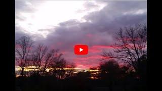 Rare Red Sunset, Red Sunset, Sunset Red, Rare Red Sky, Red Sky, Blood Sunset, Sunset Blood