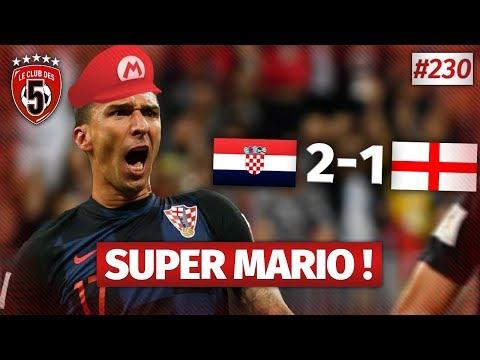 Replay #230 : Débrief Croatie vs Angleterre (2-1 ap) / COUPE DU MONDE 2018 - #CD5