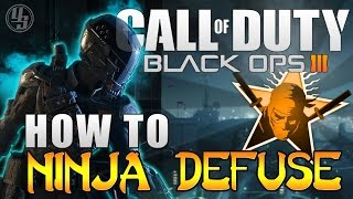 how to ninja defuse in black ops 3 best ninja defuse class setup cod bo3