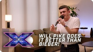 Will Pike does it better than Bieber! | X Factor: The Band | Auditions