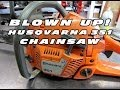 Blown Up Husqvarna 351 Chainsaw