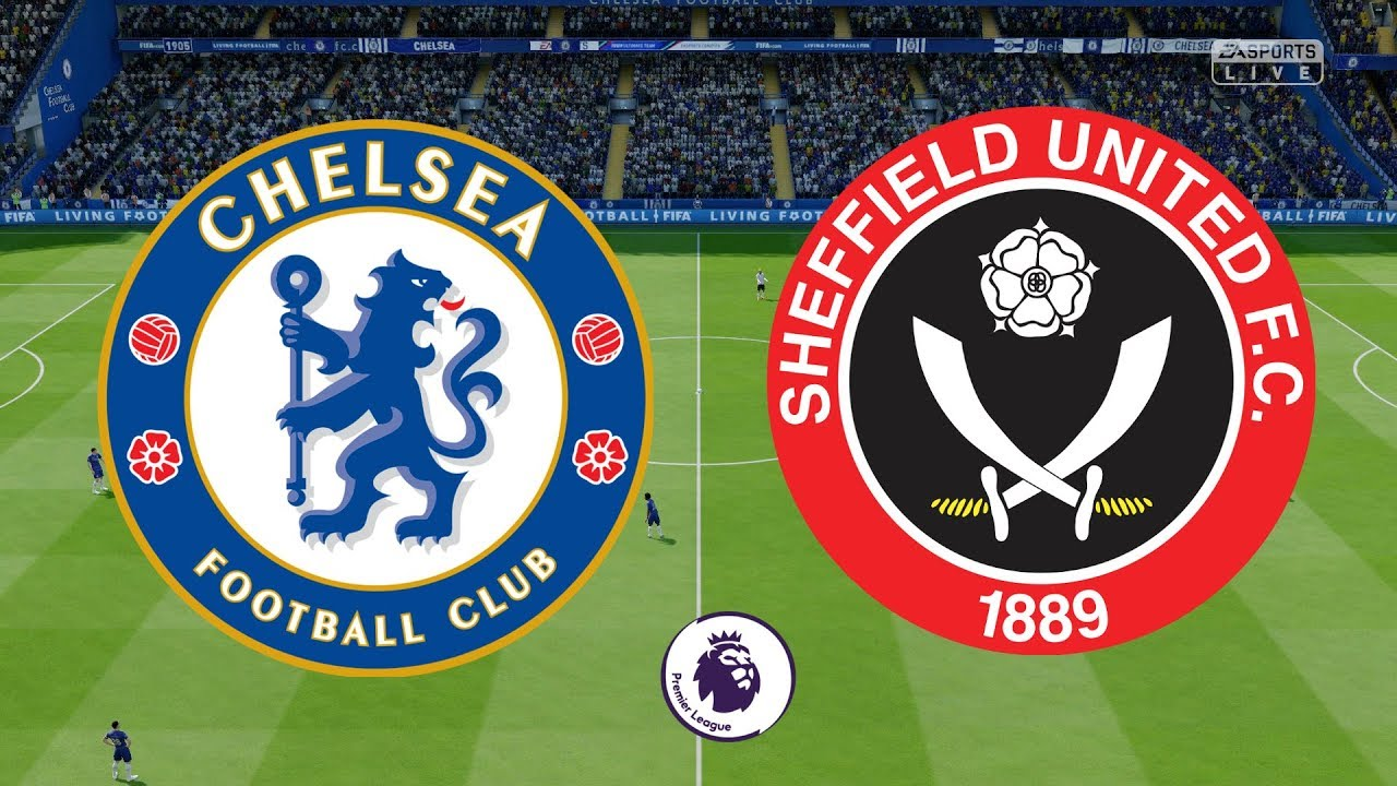 Premier League 2019/20 - Chelsea Vs Sheffield United - 31/08/19 ...