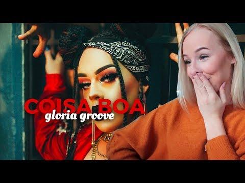 REAGINDO Á COISA BOA GLORIA GROOVE