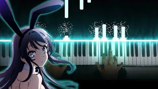 """Gambar cover Seishun Buta Yarou wa Bunny Girl Senpai no Yume wo Minai ED - """"Fukashigi no Carte"""" (Piano)"""