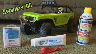 AXIAL SCX10 WATERPROOFING- Receiver, Servo, and Rust