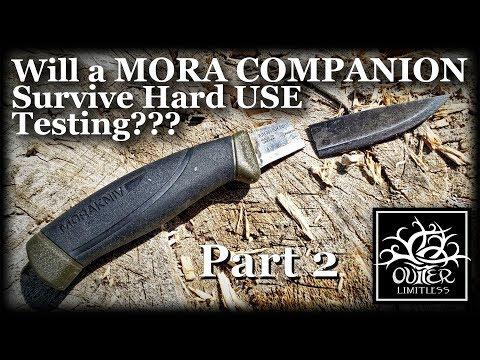 Part 2: Will a MORA COMPANION Survive HARD Use Testing???