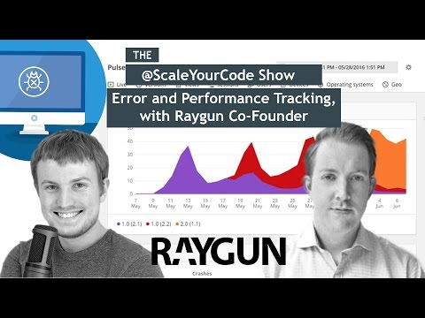Error and performance tracking, with Raygun Co-Founder JD Tr