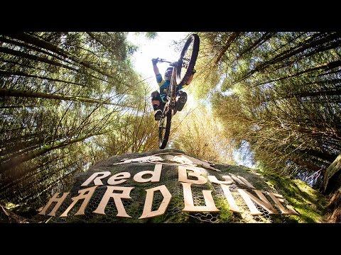 Extreme Downhill Mountain Bike Racing | Red Bull Hardline 2016