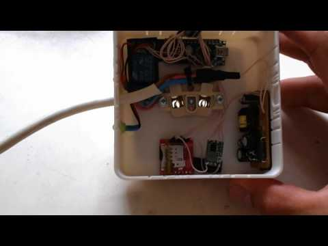 GSM розетка на SIM800L и Arduino Nano