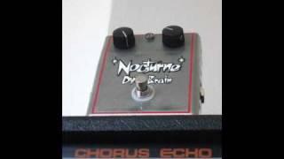 Nocturne Dyno Brain Pre-amp / PreAmp / Pre Amp - Test w/ Strymon El Capistan & Roland RE-501