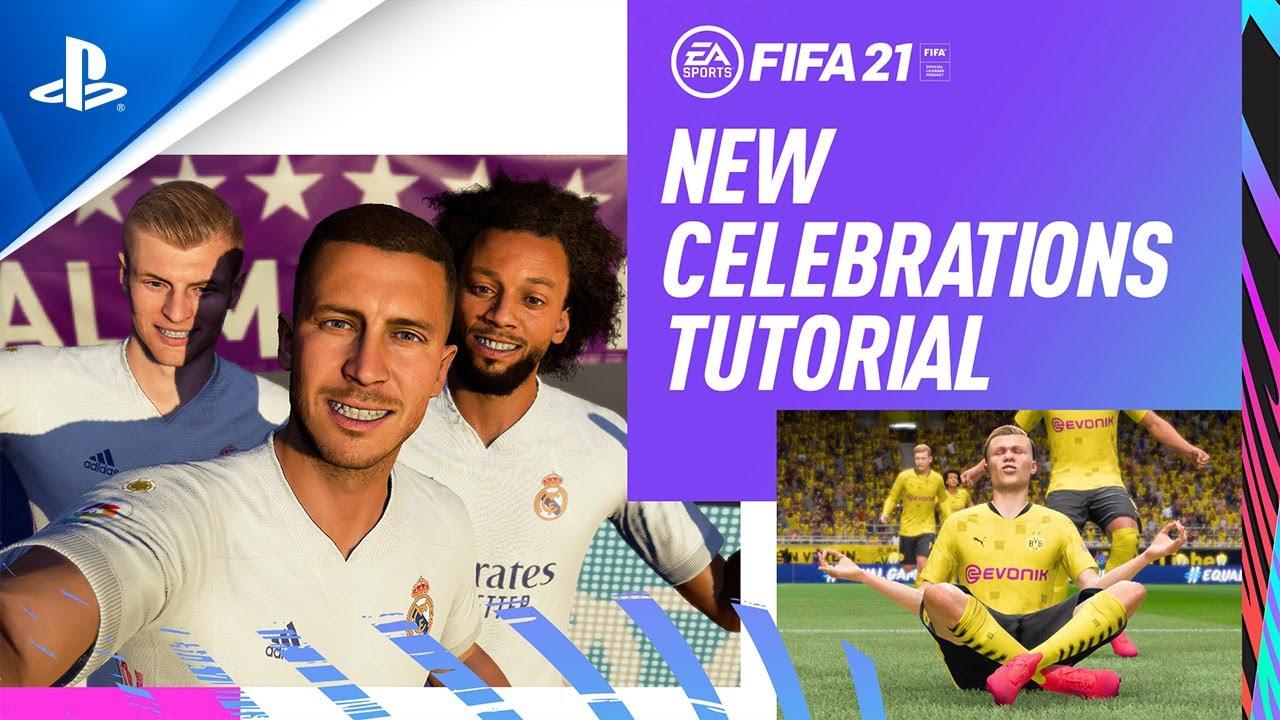 FIFA 21 | New Celebrations Trailer | PS4