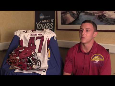 #RMACkickoff Colorado Mesa Football Media Day - One on One Interviews