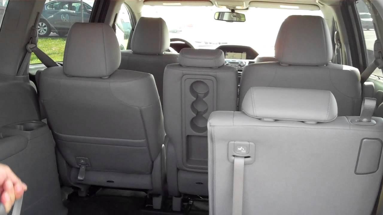2014 Honda Odyssey 8 Passenger Seating Youtube