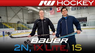 Bauer Nexus 2N Pro, Vapor 1X LITE & Supreme 1S Sticks // On-Ice Insight