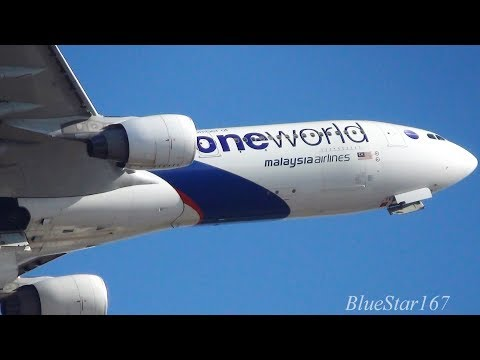 [Oneworld] Malaysia Airlines Airbus A330-300 (9M-MTE) takeoff from NRT/RJAA (Tokyo - Narita) 16R
