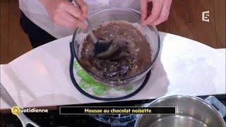 Coup d'food : Mousse au chocolat noisette