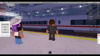Trainspotting at Eldershire Cental (Terminal Railways - ROBLOX)