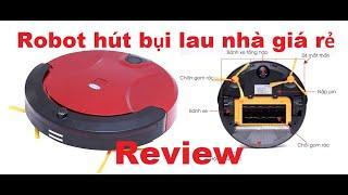 Robot hút bụi lau nhà thông minh giá rẻ- Robot Vacuum Cleaner Kaichi
