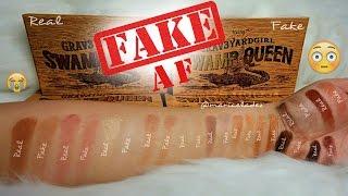 FAKE AF! $10 | Grav3yardgirl Swamp Queen Palette