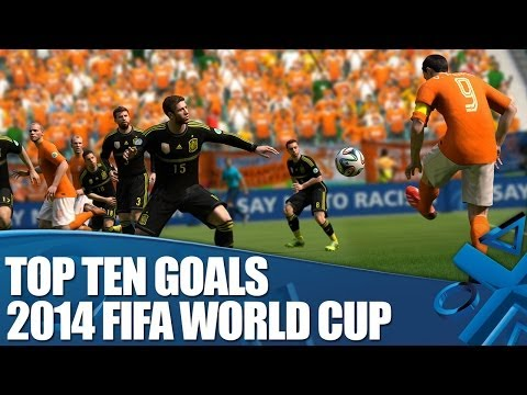 2014 FIFA World Cup Brazil: Our best goals yet!