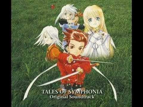 Tales of Symphonia - Tethe'alla World Map - YouTube on