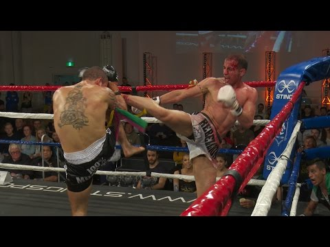 Muay Thai - Fanous vs Ahmadi - Rebellion Muay Thai 13, Melbourne, Australia