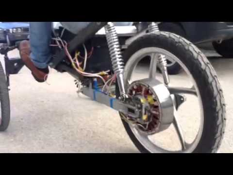 Elektrikli araba BLDC motor - YouTube