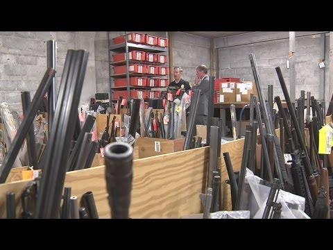 A rare look at Milwaukee's secret gun vault