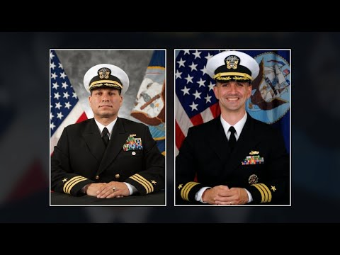 Navy relieves 2 more officers after McCain wreck