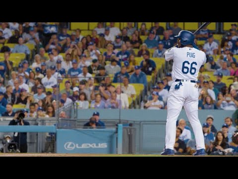 Backstage Dodgers: Puig and Ward