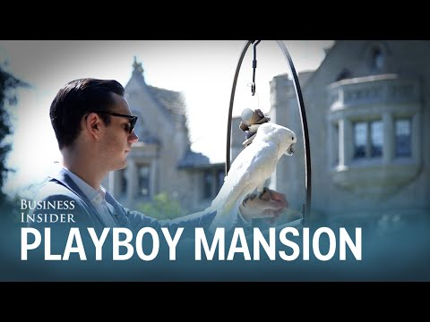 Hugh Hefner's Son Tells Us What It Was Like Growing Up In The Playboy Mansion