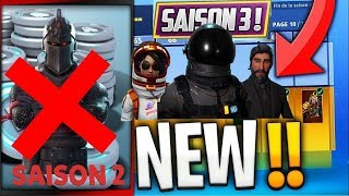 I ACHETTE THE NEW SAISON COMBAT PAS 3 FORTNITE BATTLE ROYALE !!!