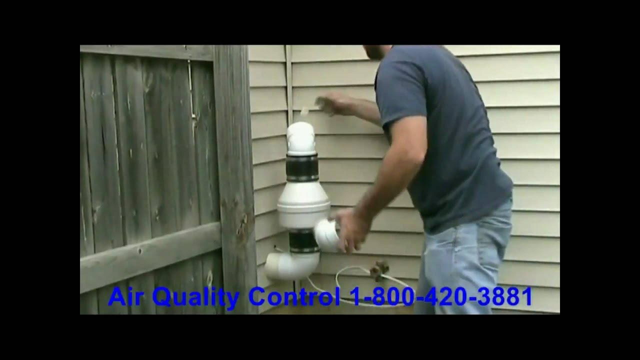 Radon Remediation System Installation Video Radon