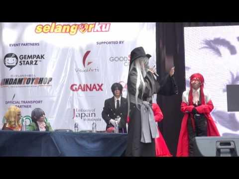 Visual Art Expo 2016 - Kuroshitsuji Cosplay Panel Fanvideo