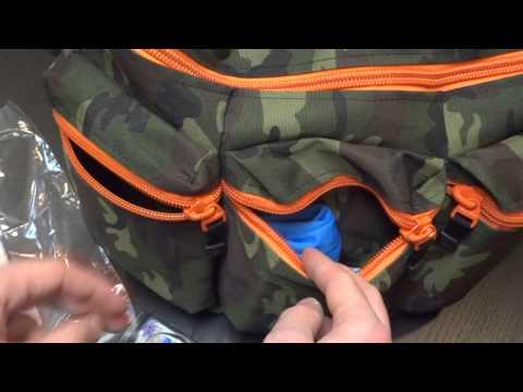 Camo Diaper Bag for Dads | Diaper Dude