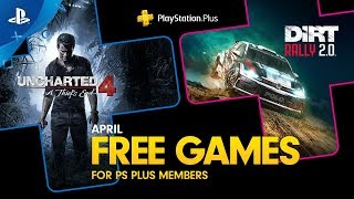 PlayStation Plus - Free Games Lineup April 2020 | PS4