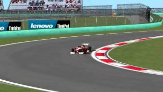 [F1C] Scuderia Ferrari F138 @ Sinopec Chinese Grand Prix with Felipe Massa [HD]
