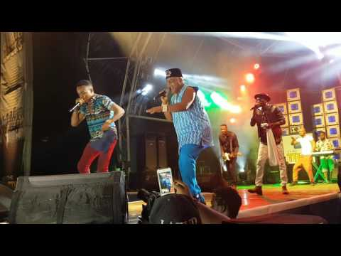 BRIGHT CHIMEZIE AND HUMBLESMITH ON STAGE FOR THE FIRST TIME AT STAR TREK MUSIC CONCERT IN OWERRI.