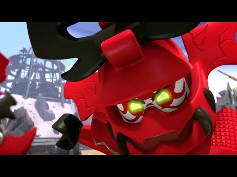 "LEGO Ninjago Villains Throwback Compilation (2016) Museum of History Doctor Sanders ""Bad Guys"" Tour"