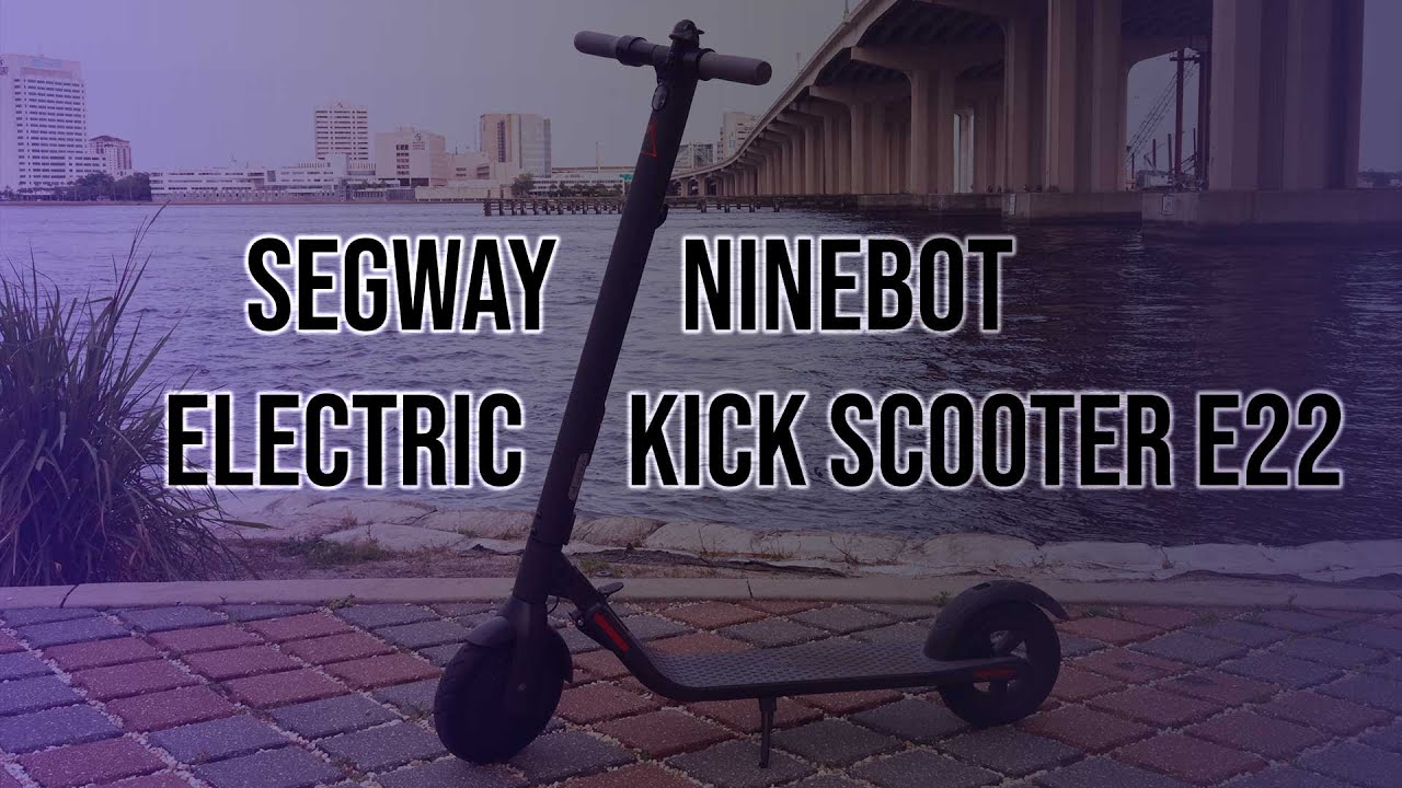 Download Segway Ninebot Electric Kick Scooter E22   Hands on