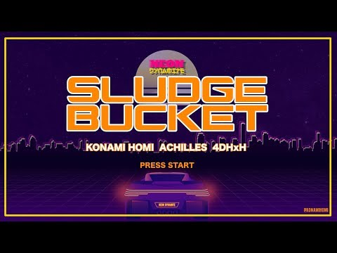 VIDEO OF THE MONTH: SLUDGE BUCKET FROM KONAMI HOMI, ACHILLES AND 4DHXH