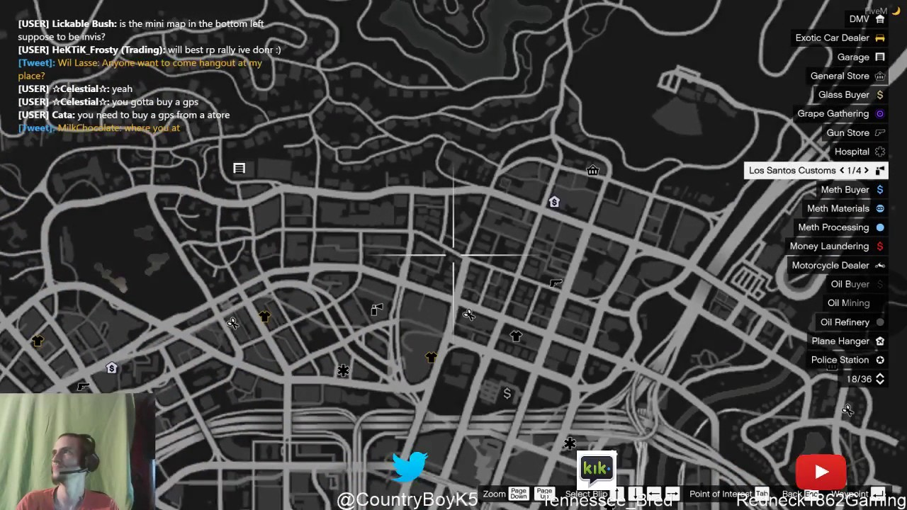 Fivem Dealership Map