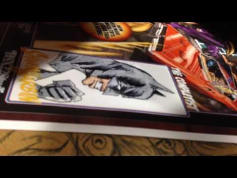 Batman Sketch by comic artist Shawn Harbin at Fanboy Expo June 23,2016