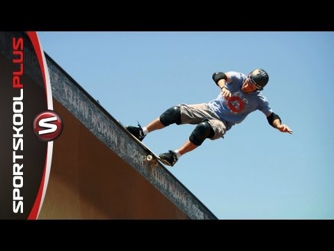 Skateboarding Vert Ramp Lip Tricks with Andy MacDonald