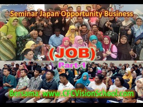Sekolah Bisnis CFC Vision: Presentasi Bisnis Naturally Plus, Peluang Bisnis dari Jepang, Part-1.