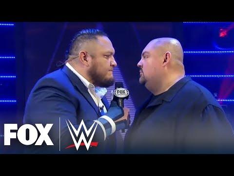 Samoa Joe takes Gabriel Iglesias to Promo School | WWE BACKSTAGE | WWE ON FOX