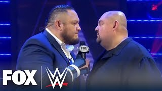 Samoa Joe takes Gabriel Iglesias to Promo School | WWE BACKSTAGE | WWE ON FOX