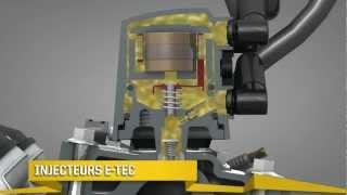 Moteur Rotax E-TEC de Ski-Doo