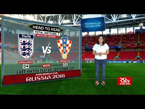 FIFA World Cup Stats Zone: Head-to-head England vs Croatia